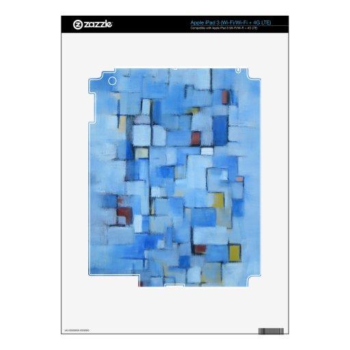 Línea abstracta serie 5 iPad 3 pegatina skin