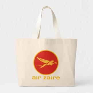 Línea aérea de Air Zaire Bolsa Tela Grande