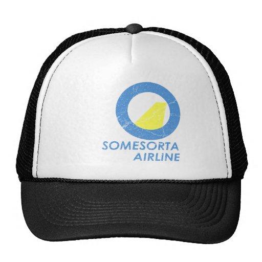 Línea aérea de Somesorta Gorros Bordados