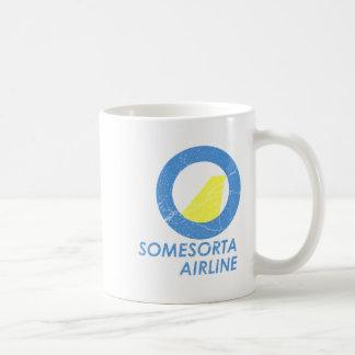Línea aérea de Somesorta Taza Básica Blanca