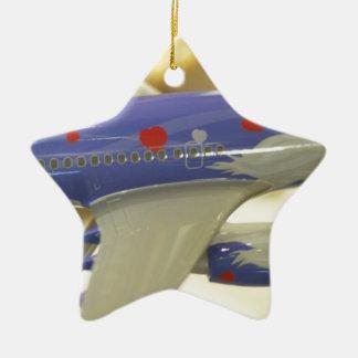 Línea aérea adornos de navidad