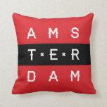 Línea almohada tipográfica de Amsterdam 3
