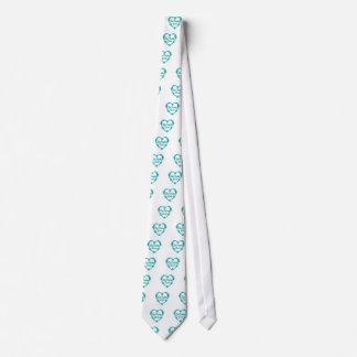 Línea amante del baile corbata