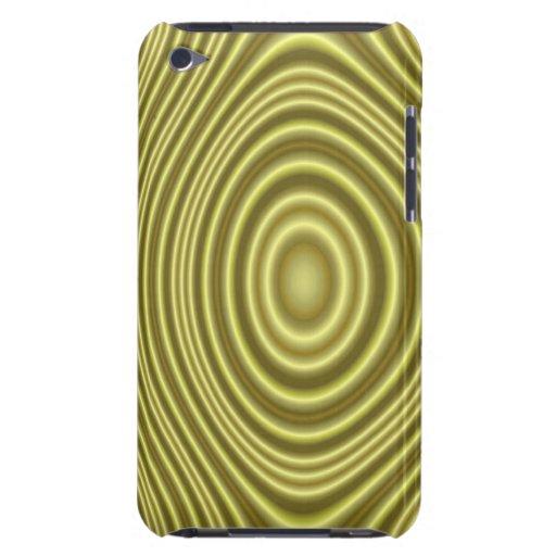 Línea amarilla modelo Case-Mate iPod touch cárcasa