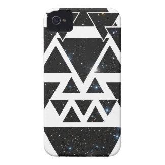 Línea amor del cielo nocturno de la estrella del iPhone 4 carcasa