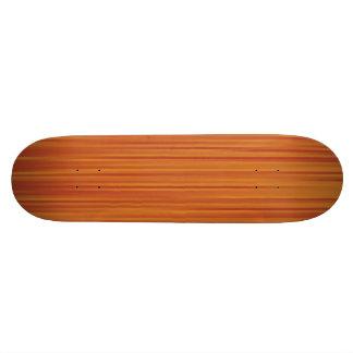 Línea anaranjada retra textura patinetas personalizadas