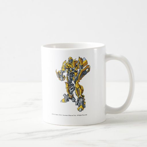 Línea arte 5 del abejorro taza