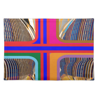 Línea arte abstracta gráfica manteles