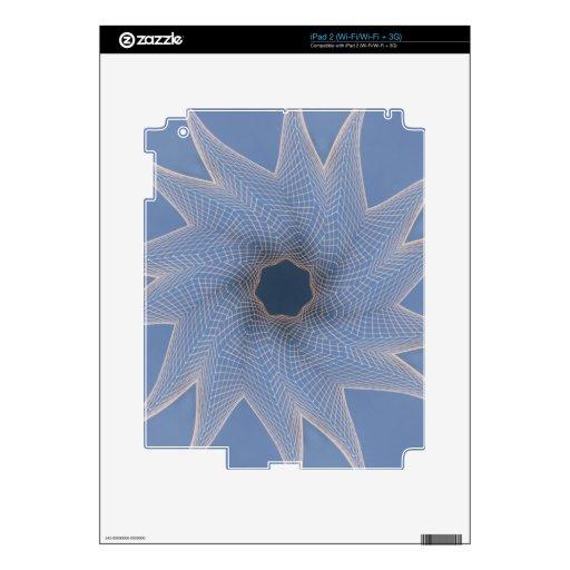 Línea arte técnicas mixtas Swirly noviembre de 201 Calcomanía Para iPad 2
