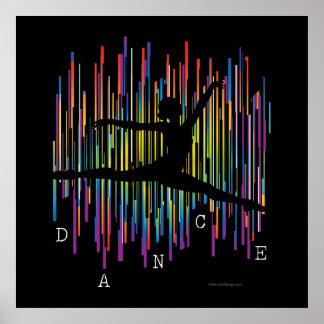 Línea bailarín v1 posters
