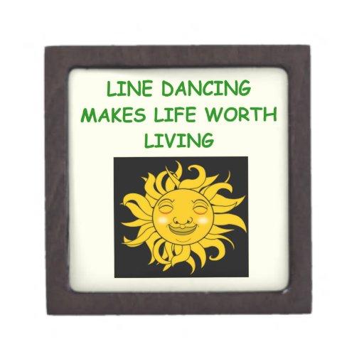 línea baile cajas de recuerdo de calidad