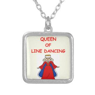 línea baile collares personalizados