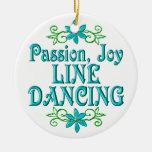 Línea baile de la alegría de la pasión ornatos