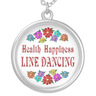 Línea baile de la felicidad de la salud colgante redondo