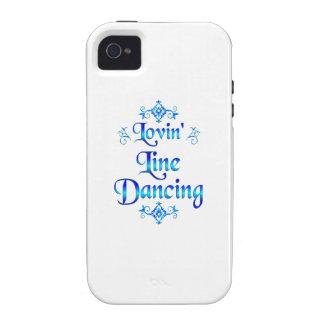 Línea baile de Lovin iPhone 4 Carcasas