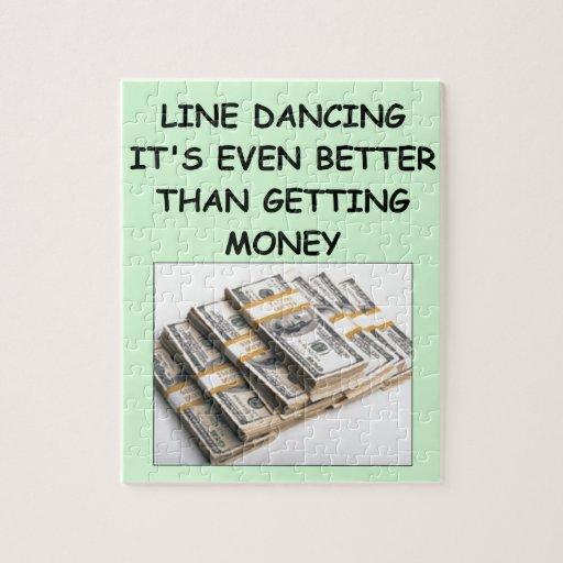 línea baile puzzle
