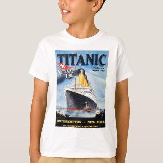 Línea blanca titánica poster de la estrella playera