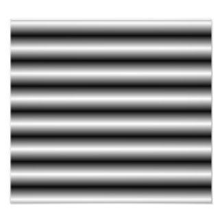 línea blanco y negro modelo impresion fotografica