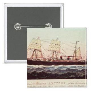 Línea buque de vapor Arizona de Guion Pins