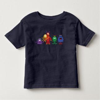 Línea camiseta del monstruo de los azules marinos