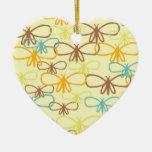 Línea caprichosa mariposas de la libélula del arte ornamento de reyes magos