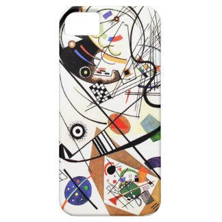 Línea caso de Kandinsky Tranverse del iPhone 5 iPhone 5 Funda