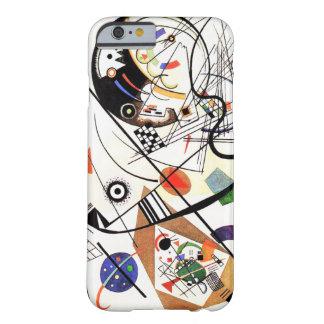 Línea caso de Kandinsky Tranverse del iPhone 6 Funda De iPhone 6 Barely There