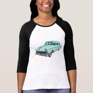 Línea coche antiguo del personalizado de Ford 1956 Camisetas