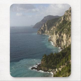Línea cojín de la costa de Amalfi de ratón Alfombrilla De Ratón