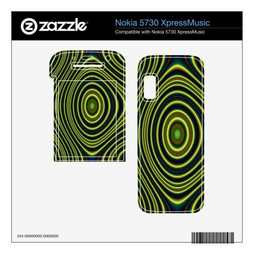Línea colorida modelo nokia 5730 skins