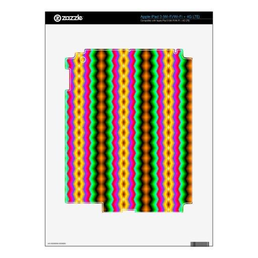 Línea colorida vertical modelo