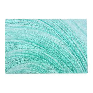 línea curvada cepillo textura de la acuarela tapete individual