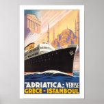 Línea de Adriatica Posters