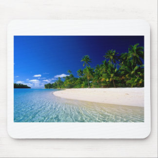 Línea de agua de la playa tapete de ratón