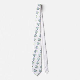 Línea de amor de la paz baile corbata personalizada