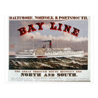 Línea de bahía - la gran línea directa postal