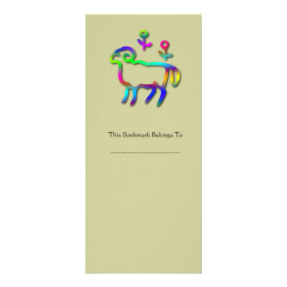 Línea de color de la muestra de la estrella del zo tarjeta publicitaria