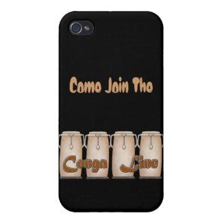 Línea de Conga iPhone 4/4S Carcasas