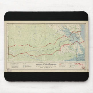 Línea de demarcación de Vietnam y zona Mousepads
