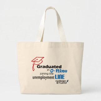 Línea de desempleo de O-nine Bolsa De Mano