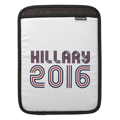 LÍNEA DE HILLARY 2016 RETRA - .PNG FUNDAS PARA iPads