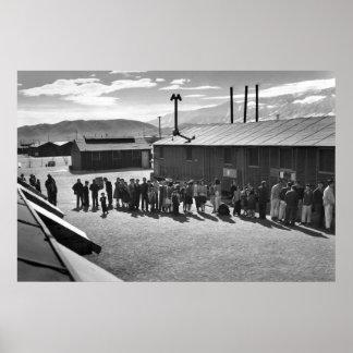 Línea de la comida: 1943 poster
