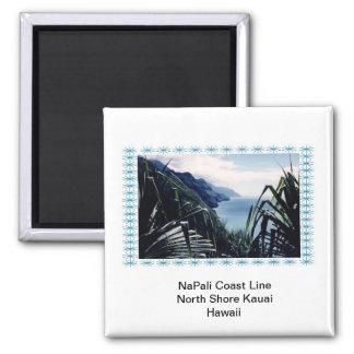 Línea de la costa del Imán-NaPali Kauai Hawaii