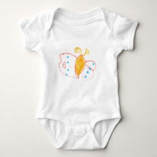 Línea de la mariposa de Hannah de productos Body Para Bebé