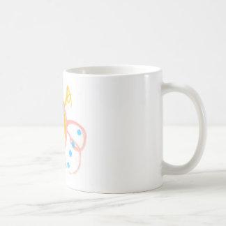 Línea de la mariposa de Hannah de productos Tazas De Café
