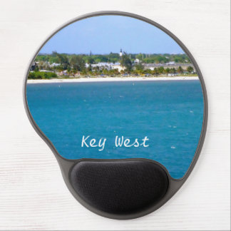 Línea de la playa de Key West Alfombrilla De Raton Con Gel