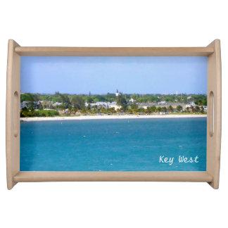 Línea de la playa de Key West Bandejas