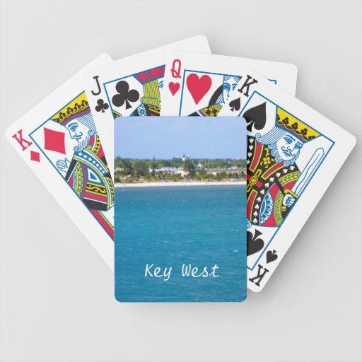 Línea de la playa de Key West Baraja Cartas De Poker