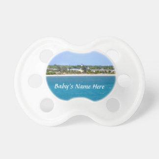 Línea de la playa de Key West Chupetes Para Bebés