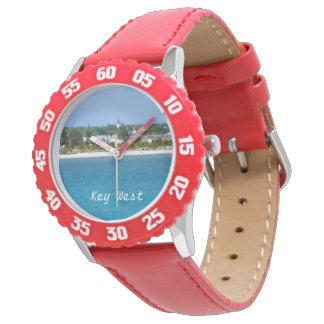 Línea de la playa de Key West Relojes De Pulsera